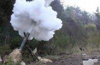 Боевики из минометов обстреляли блокпост под Дебальцево