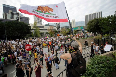 Прихильники незалежності Каліфорнії подали в прокуратуру пропозицію про проведення референдуму