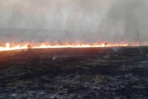 Штаб АТО заявив про перехід бойовиків до тактики умисних підпалів