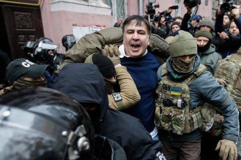 Партия Саакашвили назвала фальшивкой пленки Луценко