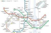 В киевском метро появятся новые схемы линий и пересадок