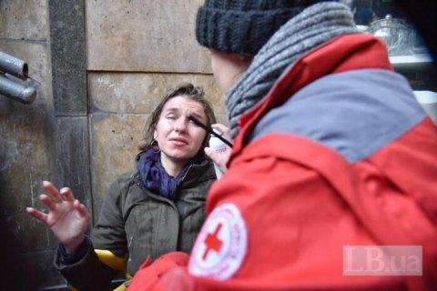 На участников акции в поддержку трансгендерных людей в Киеве напали с дымовыми шашками (обновлено)