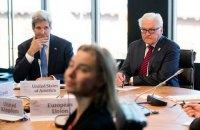 Могерини, Керри и главы МИД четырех стран завтра обсудят ситуацию в Украине
