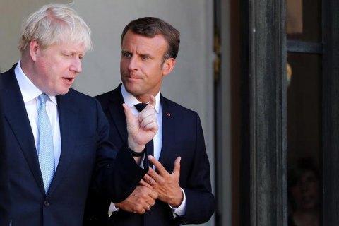 Макрон виключив можливість значних змін в угоді про Брекзит