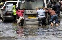 Часть Бангкока затопило после сильного ливня