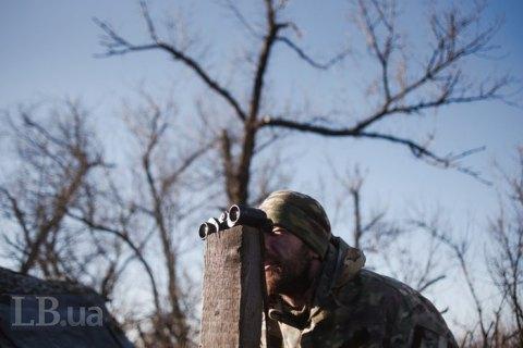 Штаб АТО нарахував три обстріли на Донбасі вчора