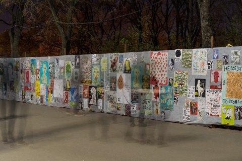 Директор комунального департаменту Харкова попросив вибачення за знищення дитячої виставки плакатів