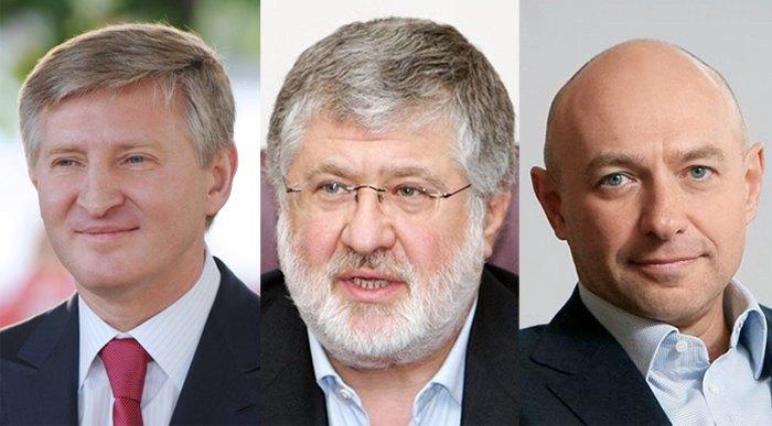 Ринат Ахметов, Игорь Коломойский и Геннадий Боголюбов