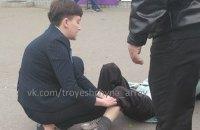 Автомобиль Савченко сбил пожилую женщину в Киеве (обновлено)
