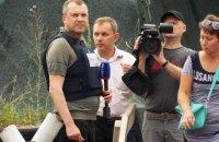 Чоловік російської пропагандистки Скабєєвої приїхав знімати ремонт мосту у Станиці Луганській