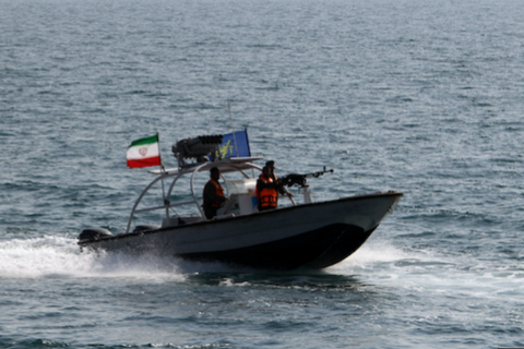 Іран захопив танкер у Перській затоці