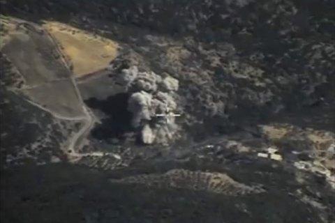 Біля Ракки збили літак сирійських ВВС