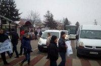 Митингующие перекрыли дорогу к двум пунктам пропуска на украинско-польской границе