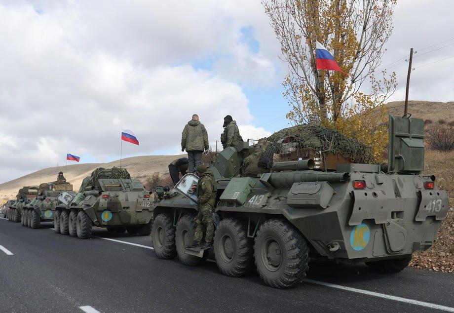 Российские«миротворцы» в Нагорном Карабахе