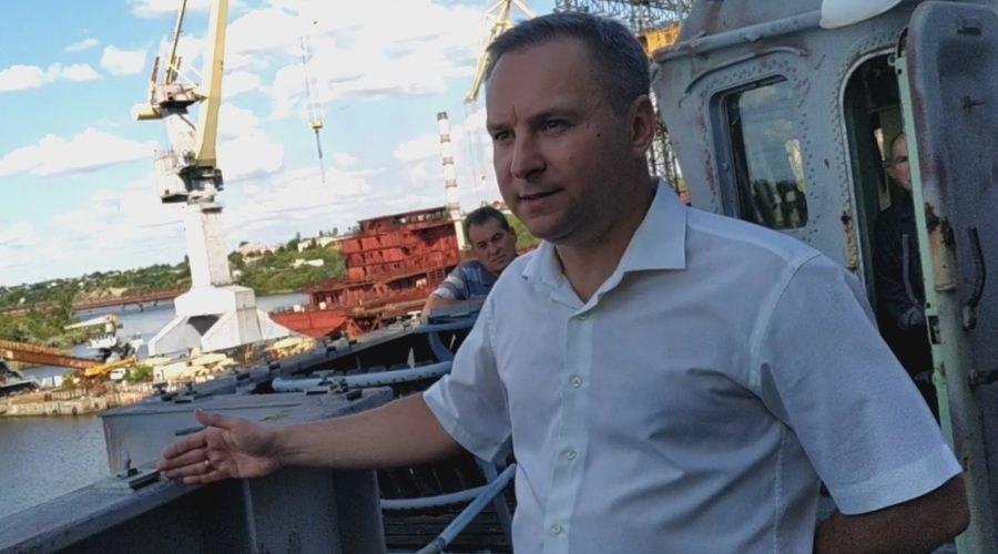 Директор ДП «Дослідно-проектний центр кораблебудування» Вадим Борисов