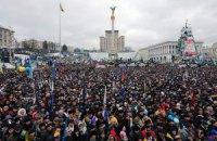 На Майдані проходить віче на підтримку територіальної цілісності України