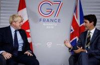 Канада виступила проти повернення РФ до складу G7 до закінчення агресії проти України