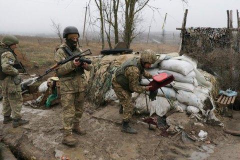 Бойовики обстріляли з мінометів позиції морпіхів під Широкиним