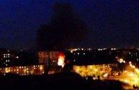 В Мариуполе случился пожар в воинской части