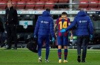 """Один из лидеров """"Барселоны"""" порвал мениск и может пропустить остаток сезона"""