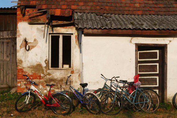 Стіна Будинку Культури в селі Свобода Берегівського району на Закарпатті