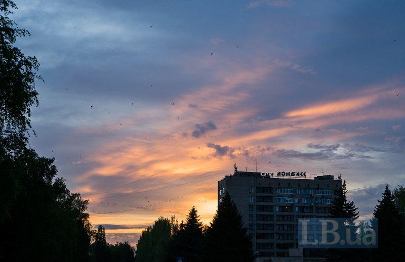 Готель Донбас - єдиний у місті, де спиняються працівники й працівниці місій і фондів