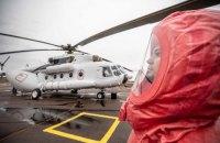МВД выделило санитарный вертолет для транспортировки вероятных больных коронавирусом