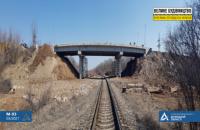 Между Бахмутом и Светлодарском восстанавливают мост, разрушенный российскими агрессорами