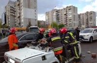 В результате столкновения легковых автомобилей во Львове погиб человек