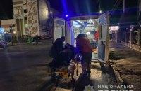 В Житомире водитель, убегая от полиции, совершил ДТП, а затем подорвался на гранате