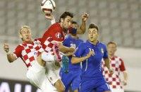 Хорватія та Італія зіграли внічию у відборі на Євро-2016