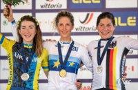 """Українка виграла """"срібло"""" чемпіонату Європи з велоспорту"""