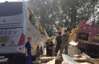 36 пасажирів автобуса загинули в результаті аварії в Китаї