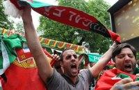 Он-лайн-трансляція матчу Данія - Португалія