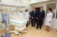 В Кировоградском перинатальном центре родился первый ребенок