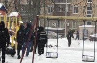 В Киеве произошел взрыв на детской площадке, погиб мужчина