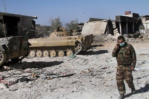 ООН выразила протест Сирии в связи с обстрелом миротворцев