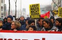 В Вене прошла многотысячная акция против ультраправых в правительстве