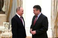 Глава немецкого МИД обсудил с Путиным ситуацию в Украине