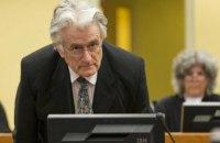 Голова суду щодо апеляції Караджича взяв самовідвід
