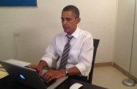Обама початился с избирателями