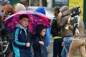 В понедельник, 23 сентября, Украину будет заливать дождями
