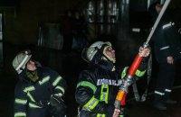 В Киеве произошел пожар в 20-этажном доме, пострадал мужчина