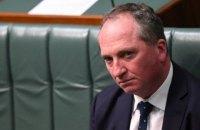 Вице-премьер Австралии подал в отставку из-за секс-скандала