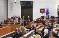 В Сенате Польши приняли резолюцию в поддержку Украины