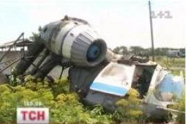 В Херсонской области вертолет не разминулся с линией электропередач
