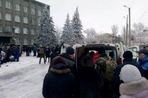 Автобуси з біженцями з Дебальцевого відправляються що 20 хвилин