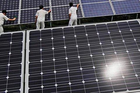 Рада знизила тариф для великої сонячної електрогенерації