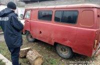 У Чернігівській області поліція затримала браконьєрів, які вбили лося