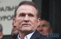 Медведчук прийшов на допит до Офісу генпрокурора